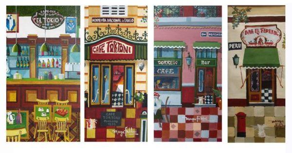 ilustraciones de cafes x marga fabbri