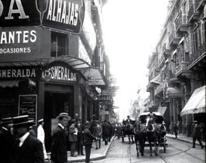 Corrientes y Esmeralda (1910)