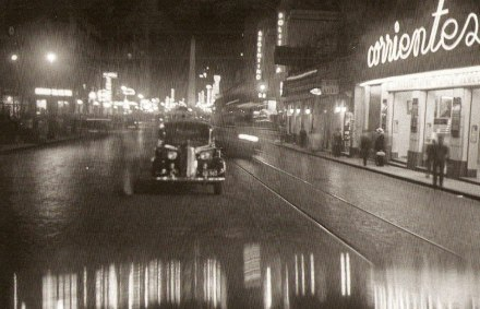 Horacio Coppola, Calle Corrientes esquina Uruguay_ 1936